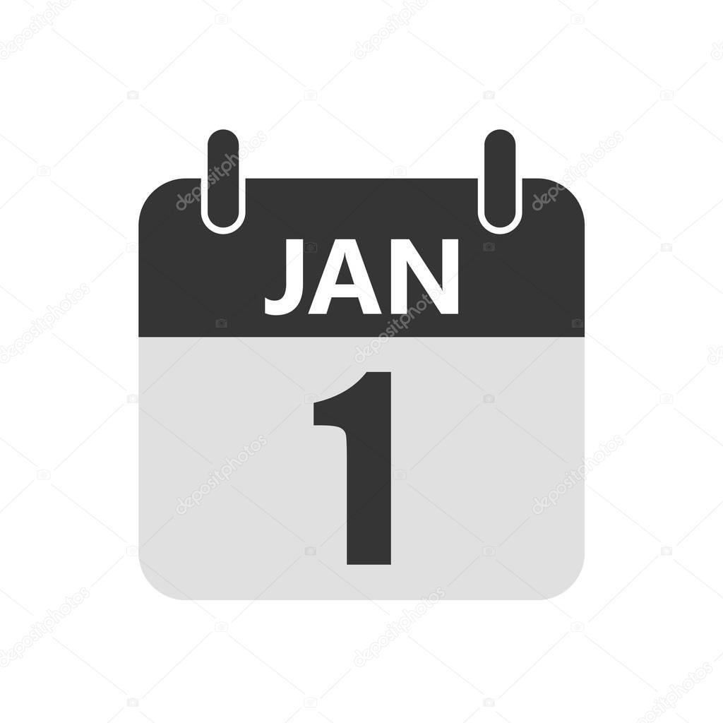 Calendar Colorfuls Set Icon Stock Vector - Illustration of