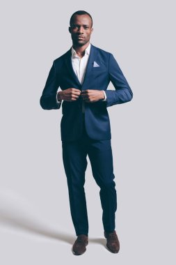 Confidence African man in suit