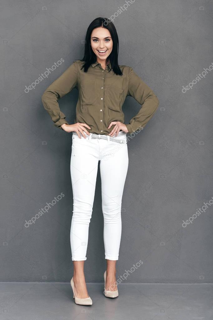 venta al por mayor precio bajo colores delicados Imágenes: mujer sport elegante | mujer en ropa casual ...