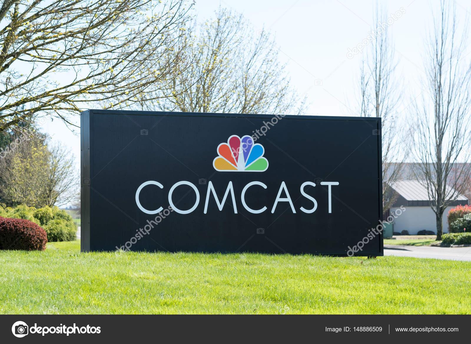Comcast Branch Sign Eugene Oregon – Stock Editorial Photo