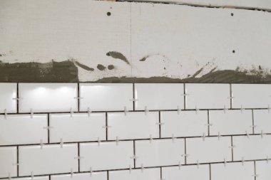White Subway Tile Tub Surround