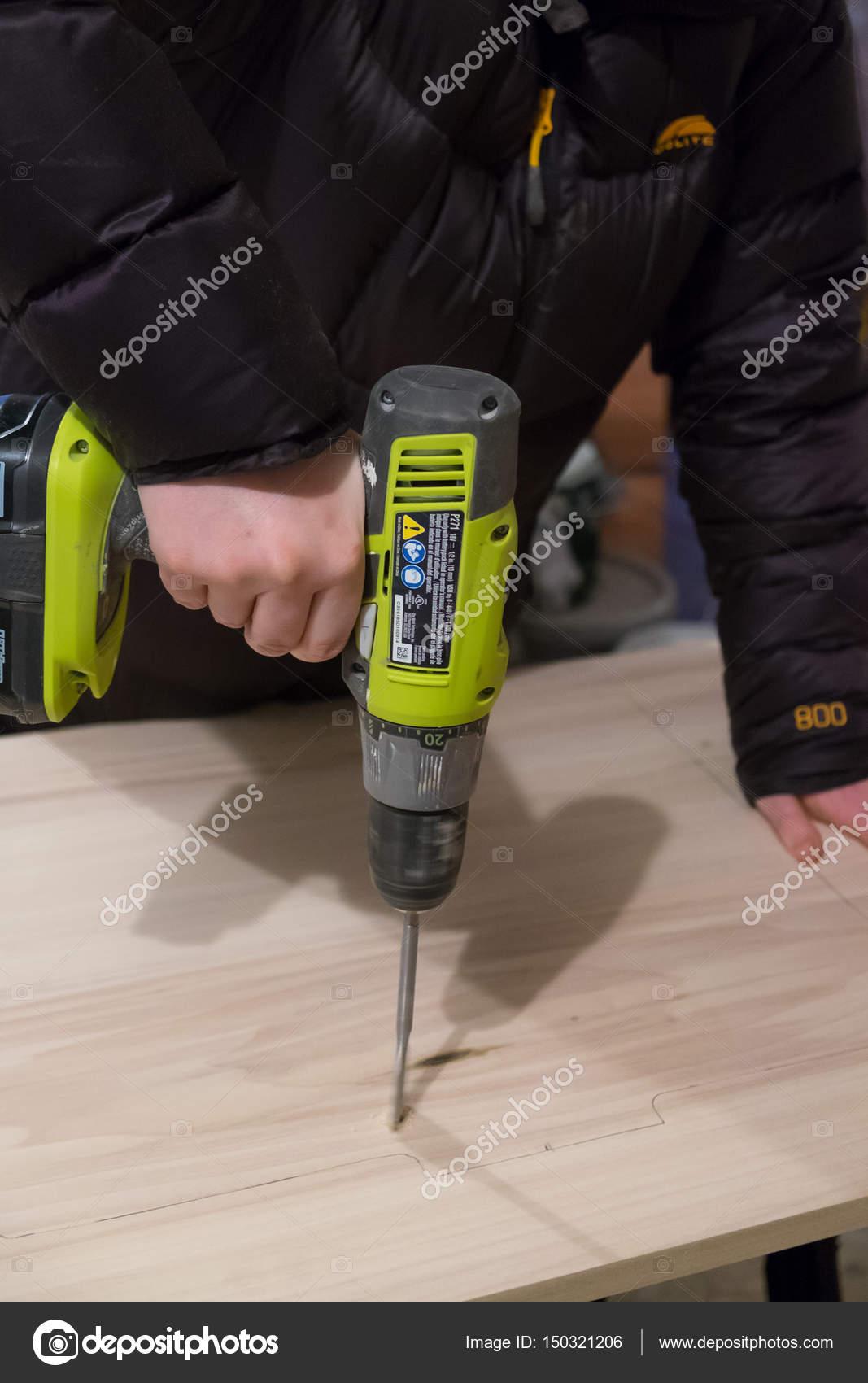 ryobi bohrer-treiber-tool — redaktionelles stockfoto © joshuarainey