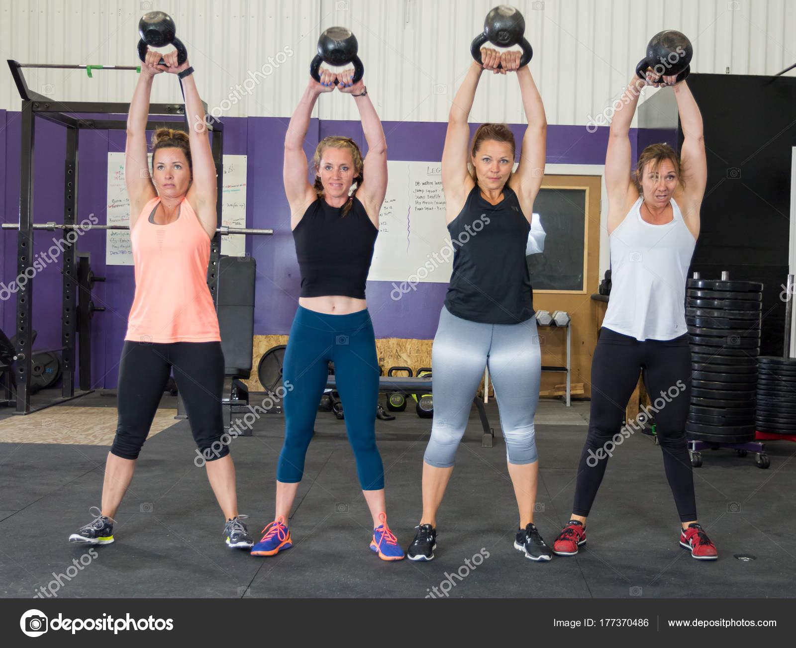 Female at Cross Training Fitness Gym — Stock Photo © joshuarainey #177370486