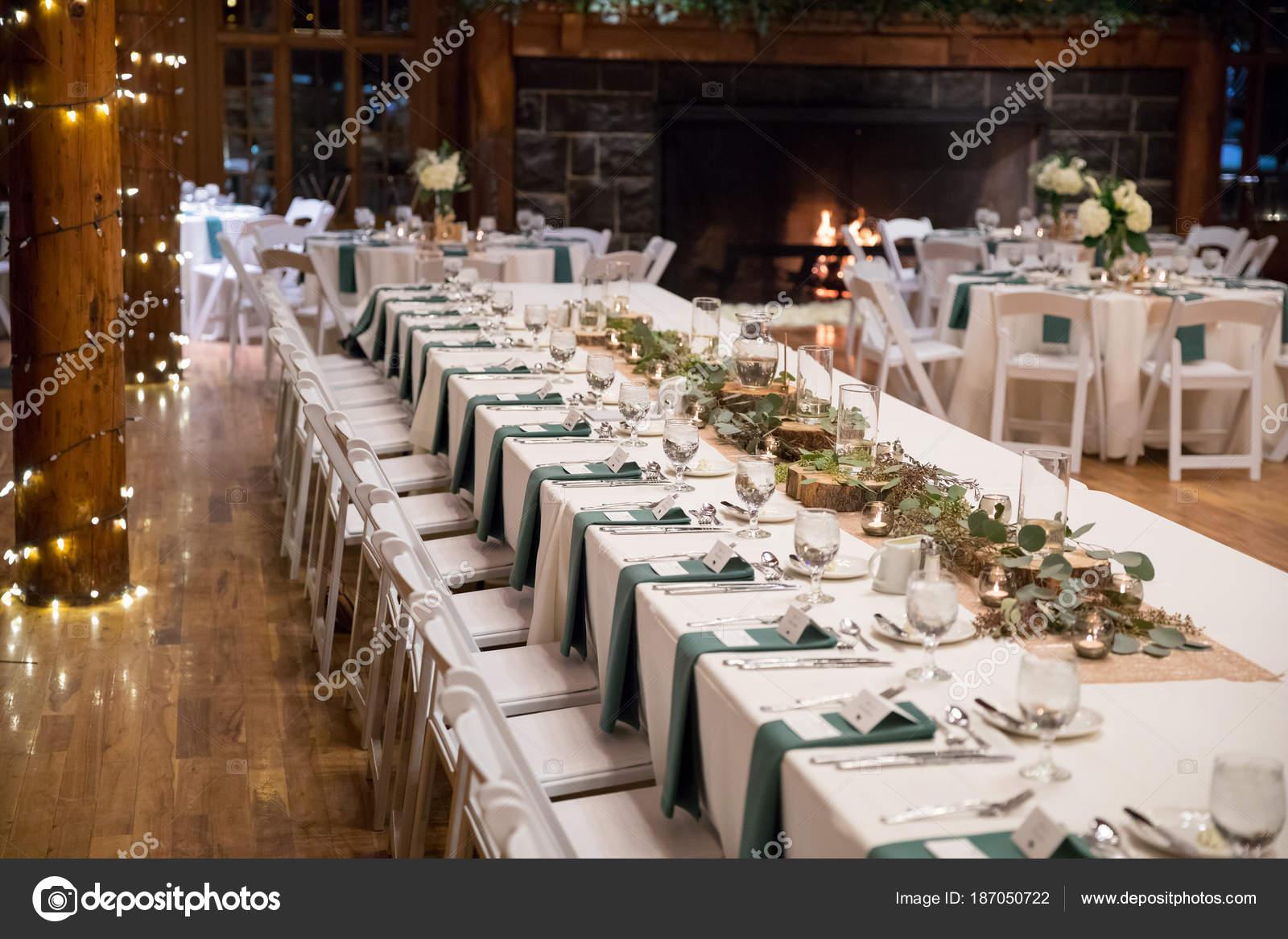 Head Wedding Table At Reception Stock Photo Joshuarainey 187050722