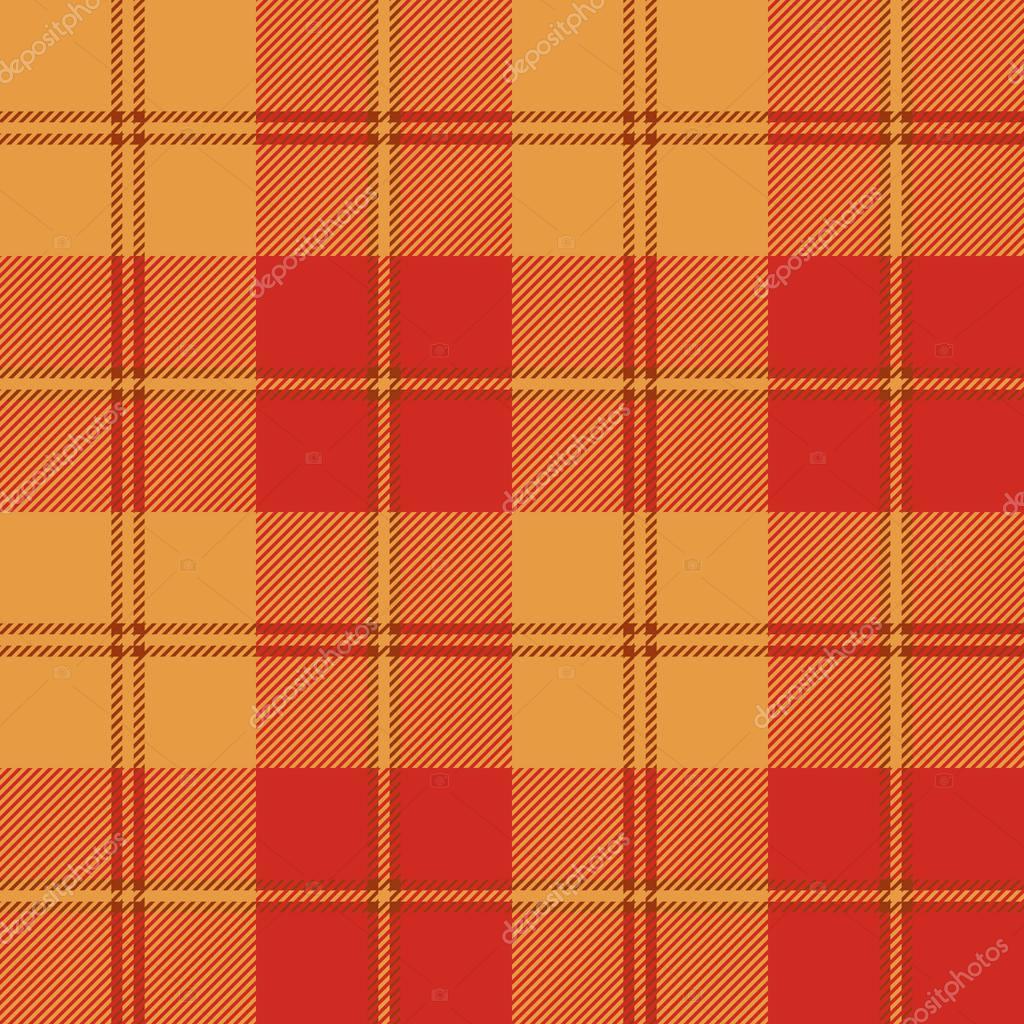 Texture transparente de couleur chaude rouge tartan — Image ...