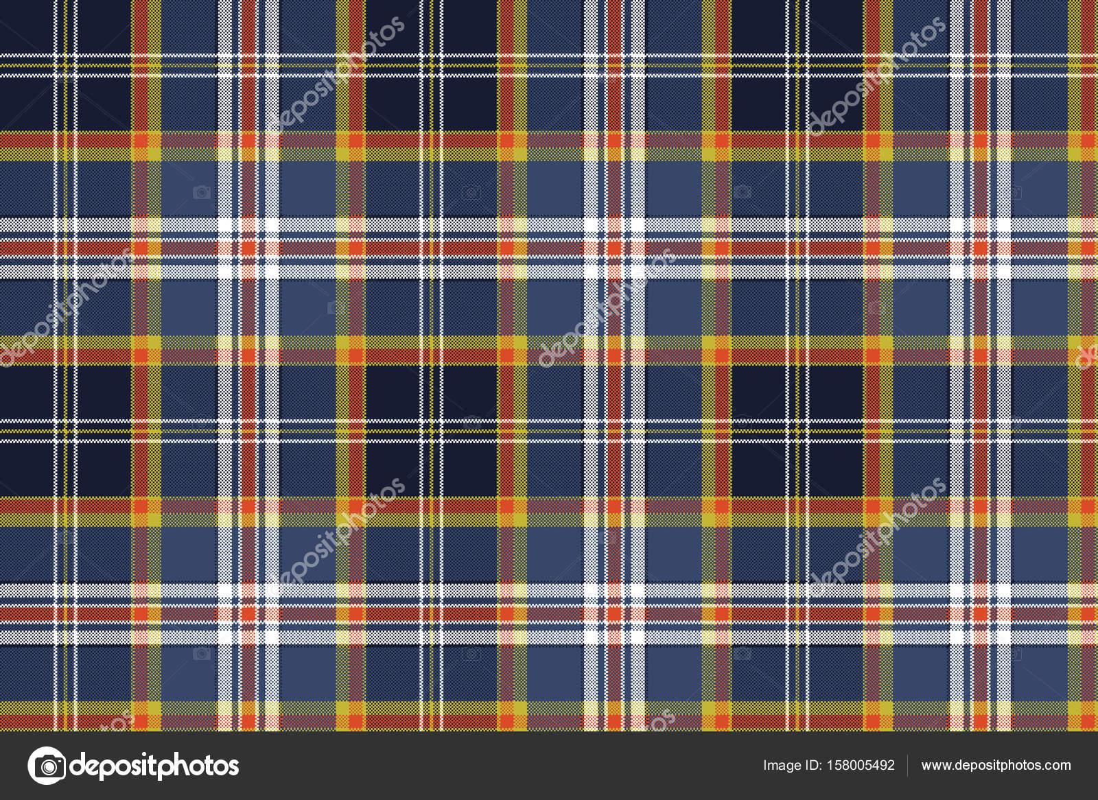 d11519709c Textura de cor seleção xadrez tecido sem costura — Vetores de Stock ...