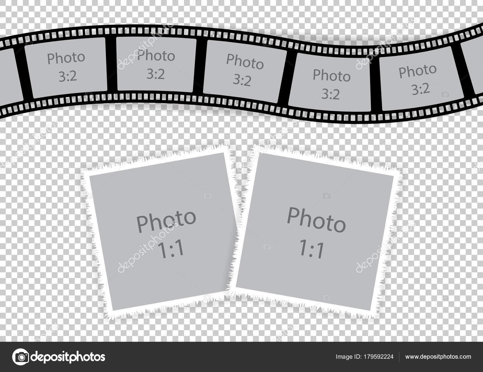 Romántica foto collage de marcos para el amor de pareja — Archivo ...