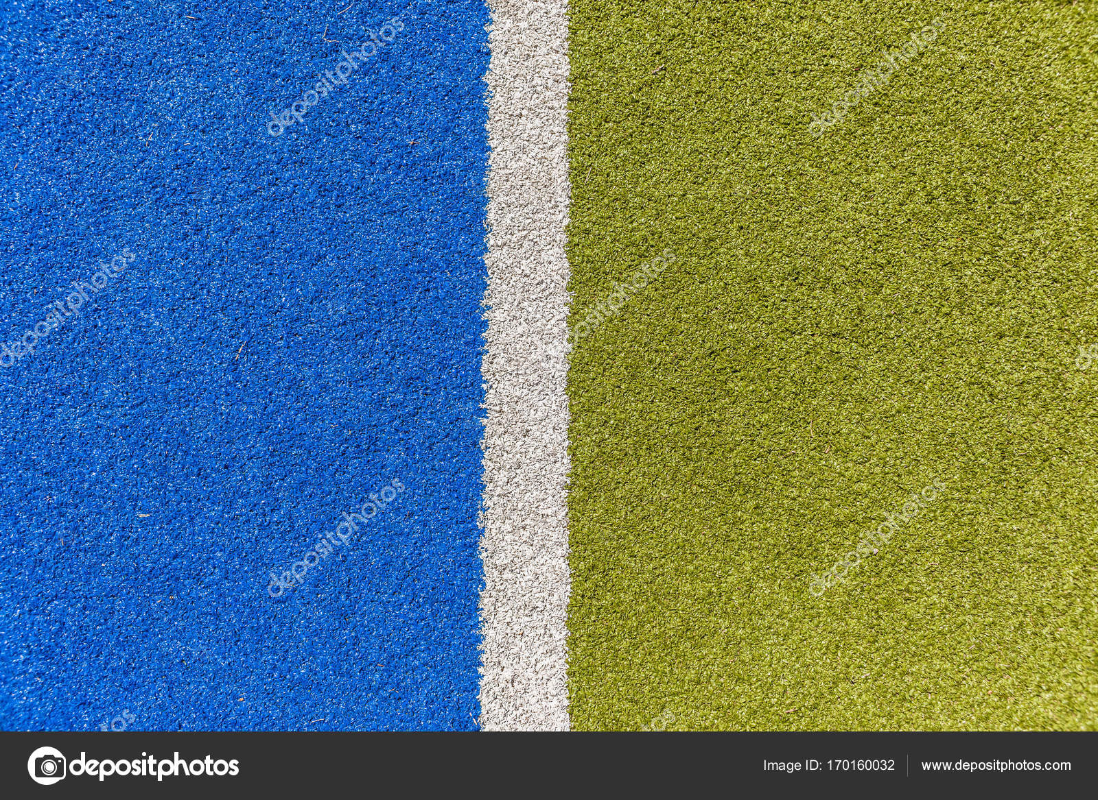 Línea del deporte Astro Turf Closeup — Foto de stock ...