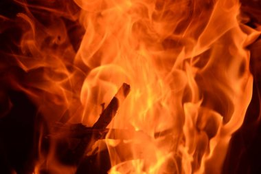 """Картина, постер, плакат, фотообои """"fire in the fireplace, log fire, costa blanca, spain"""", артикул 336867820"""