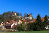 pohled na hrad Betzenstein