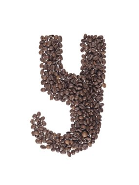 coffee beans on background,close up