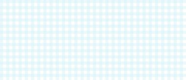Checkered tablecloth background pattern blue and white