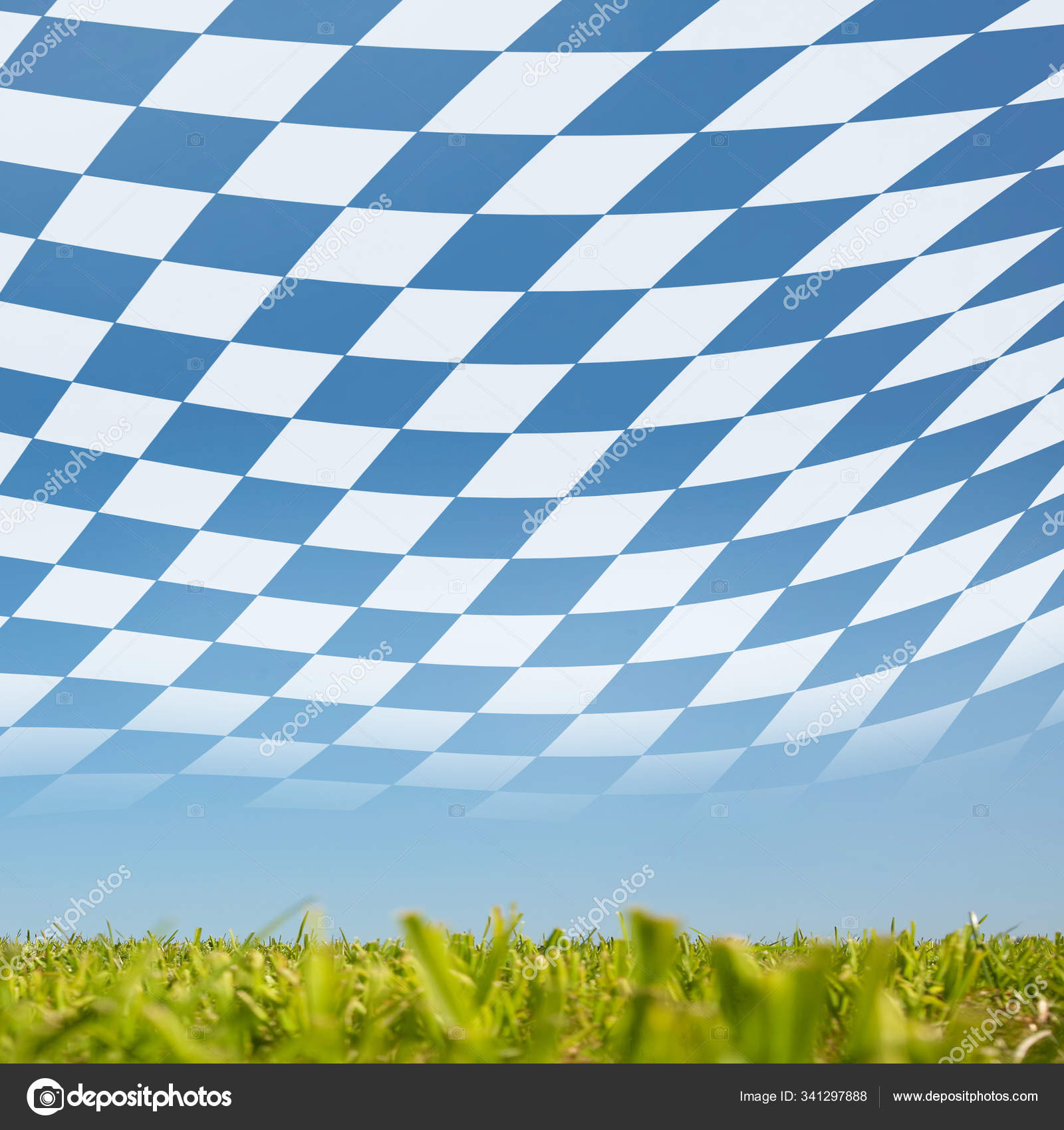 Old Duke Town Burghausen Located Upper Bavarian — Стоковое ...  Баварский Флаг