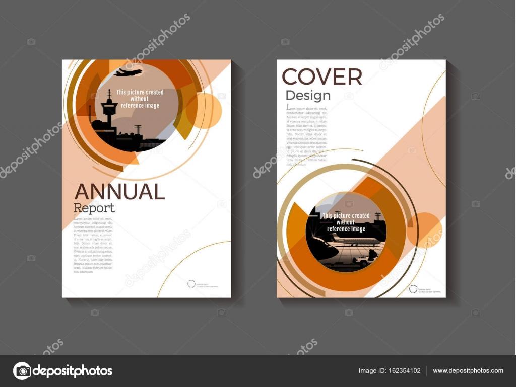 Braun, abstrakte moderne Cover Buch Broschüre Vorlage, Design ...