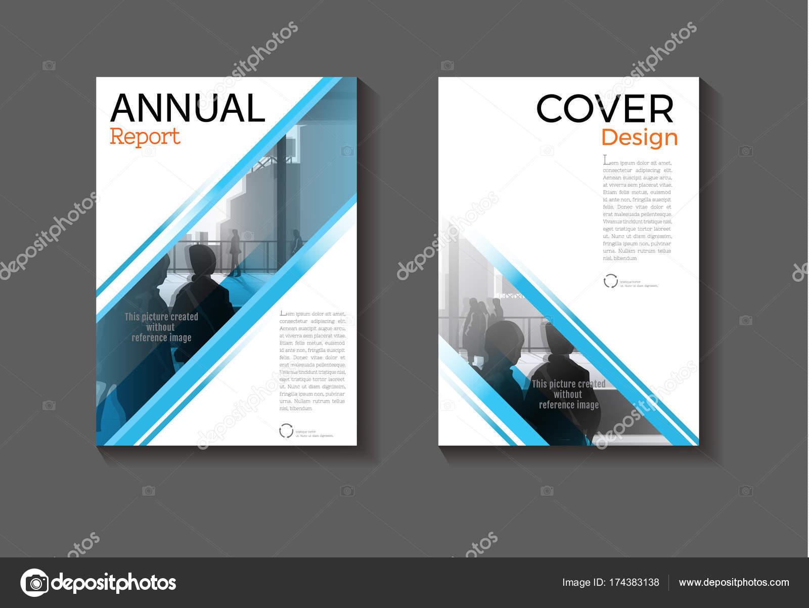 abstrakter blauer Hintergrund moderne Abdeckung Design moderne ...