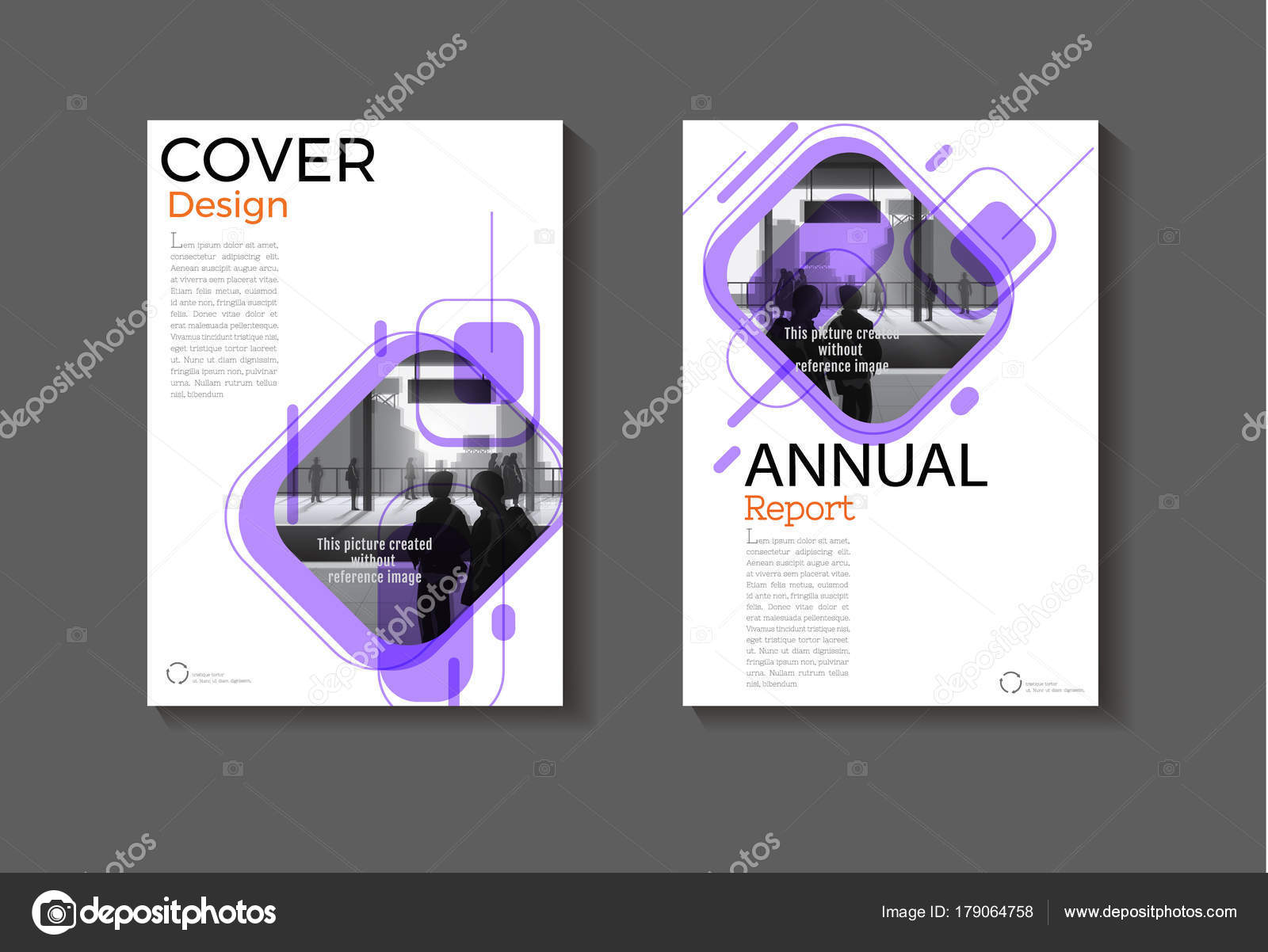 Layout lila Hintergrund moderne Abdeckung Design moderne Bucheinband ...