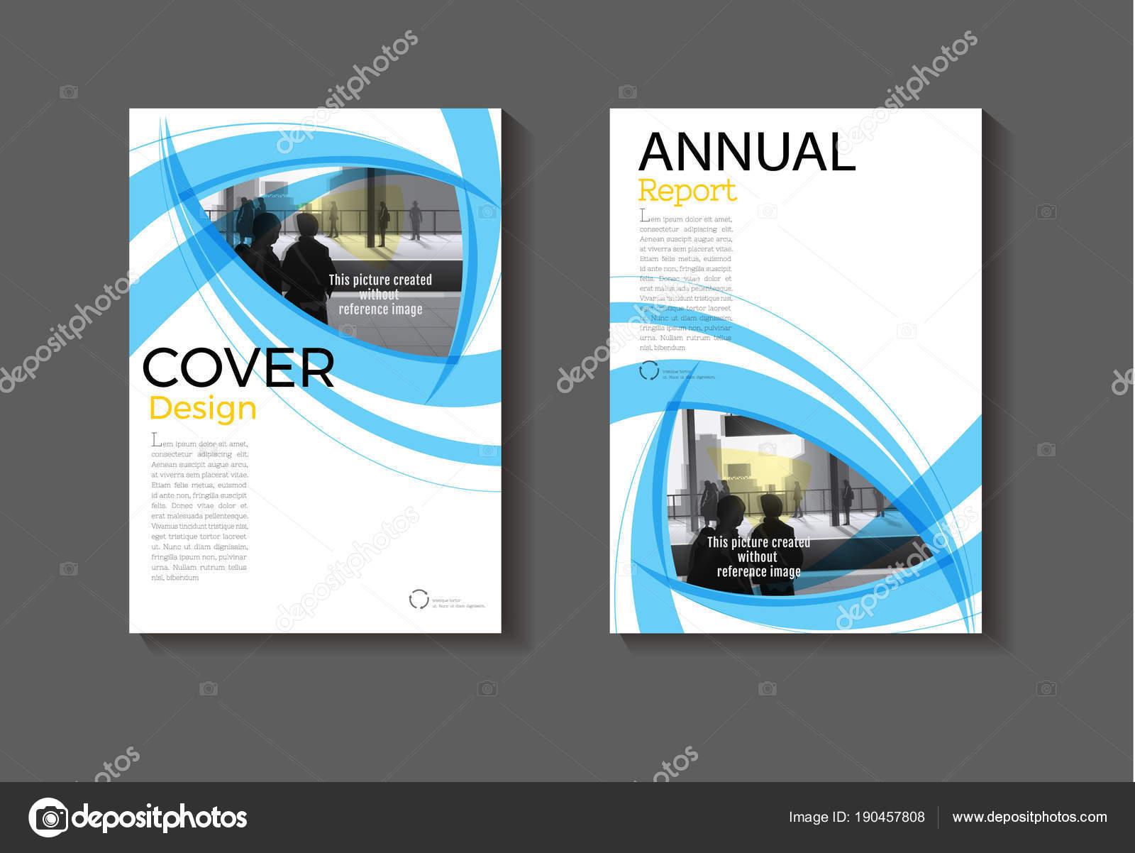 Blau blaue Layout abstrakten Hintergrund moderne Cover-Design modern ...