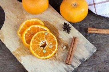 fruit orange wood