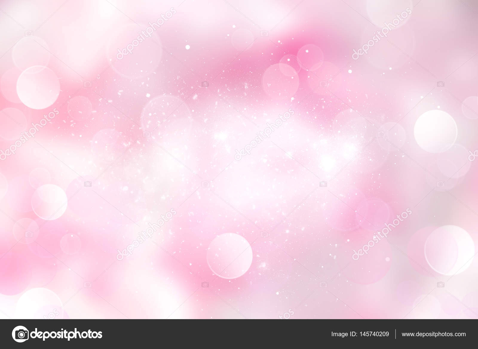 Illustrazione Rosa Chiaro Brillantinato Rosa Pallido Sfocato