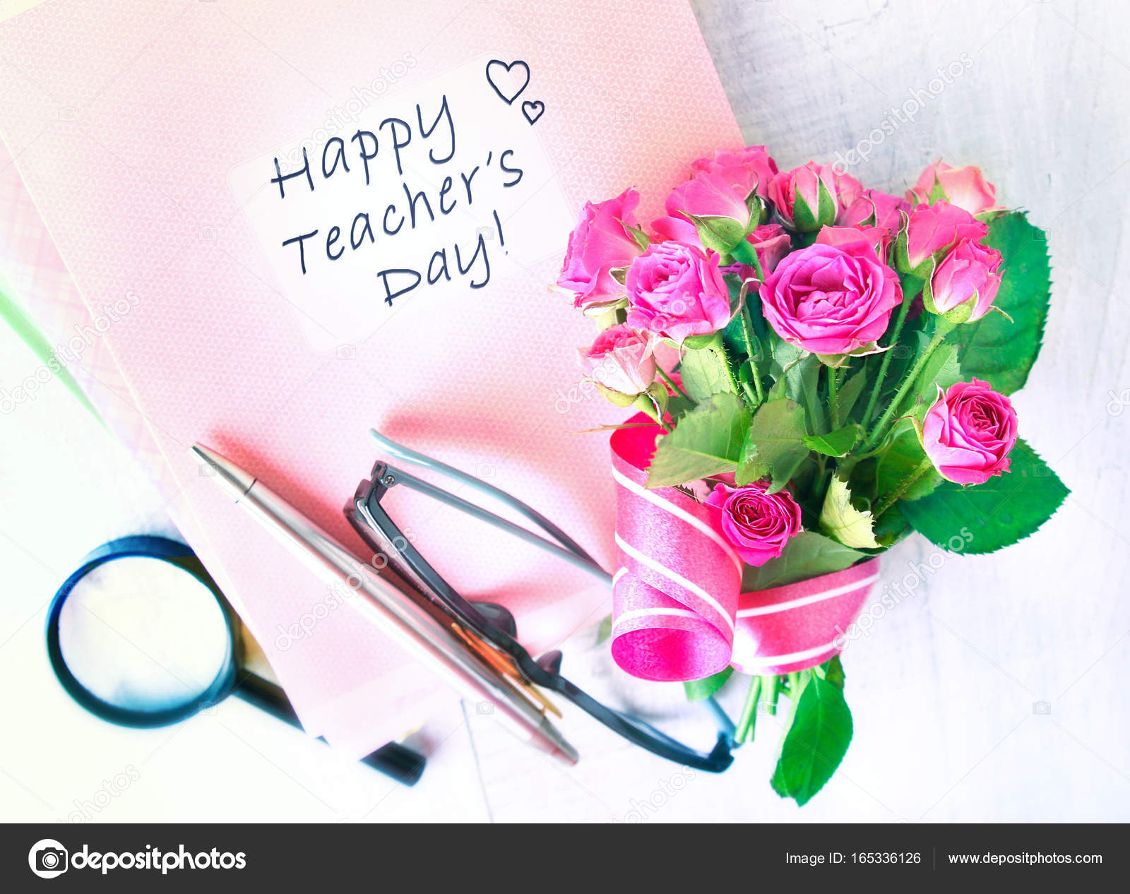 Teachers Day Holiday Greeting Card Stock Photo Nys 165336126