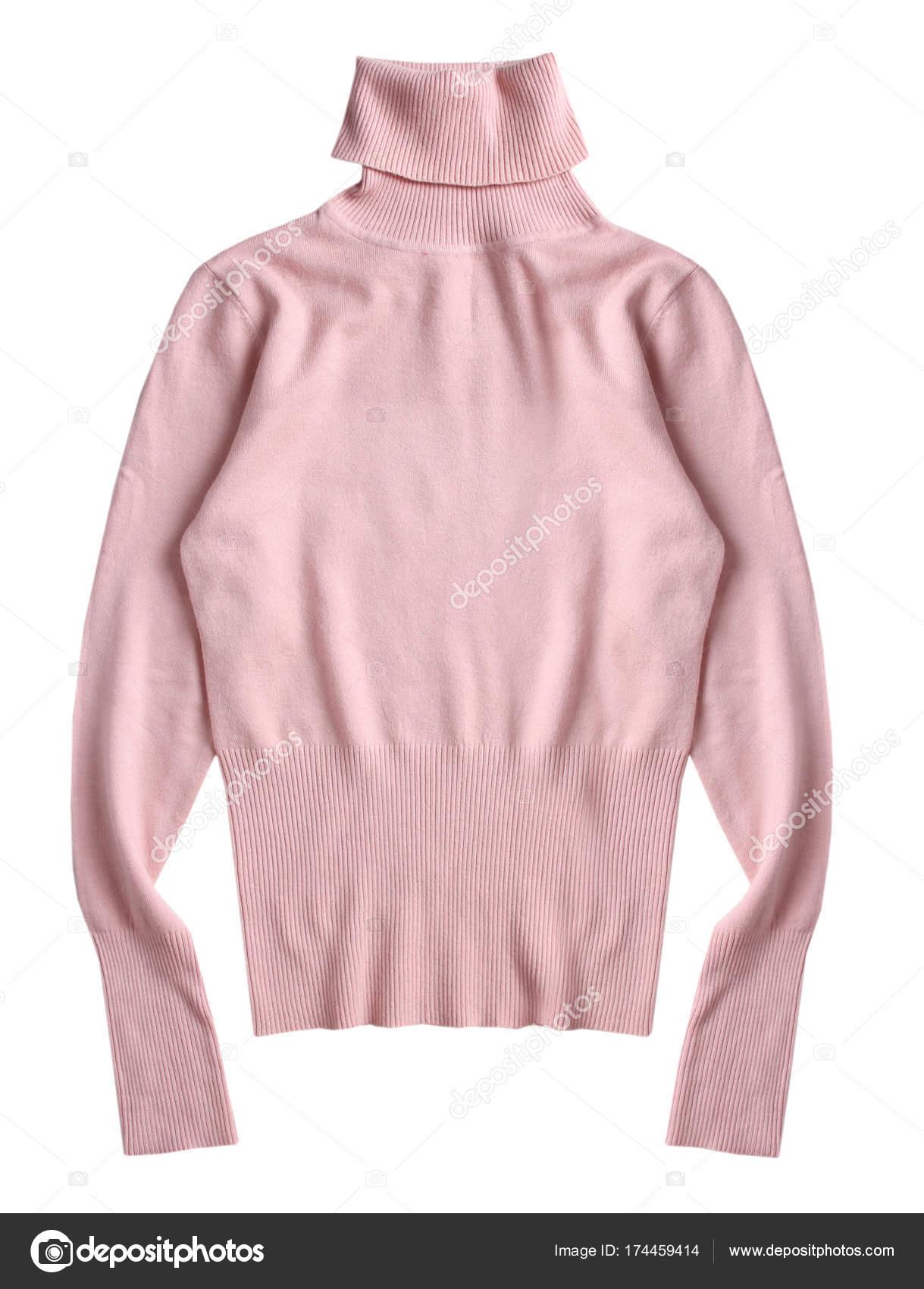 c7def9c1942f Ζιβάγκο μαλακό ροζ πλεκτό πουλόβερ απομονωμένες — Φωτογραφία Αρχείου ...