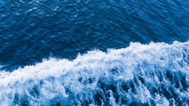 beautiful blue water bubbles