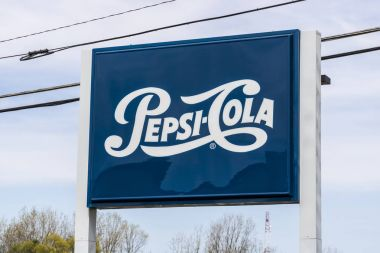 Fort Wayne - Circa April 2017: Legacy Pepsi Signage and Logo. Pepsi is one of the largest beverage producers in the world I