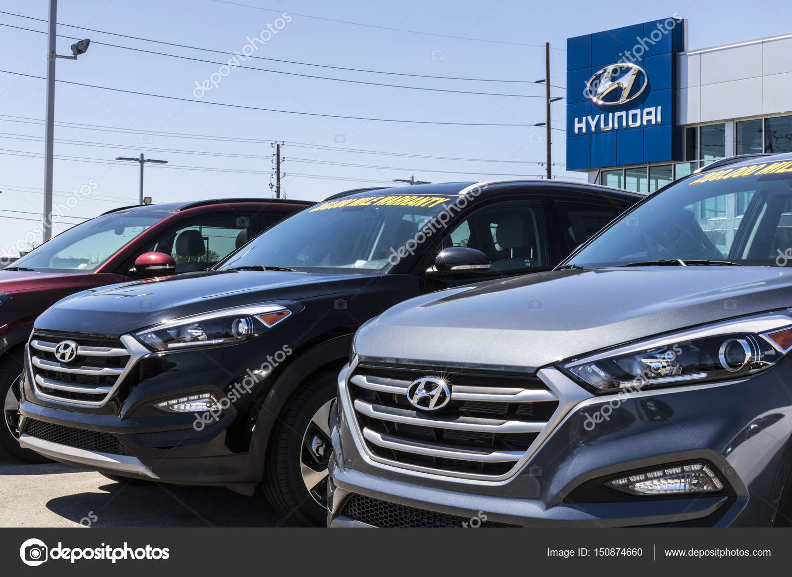 Hyundai Dealership Indianapolis >> Indianapolis Circa April 2017 Hyundai Motor Company Dealership