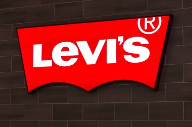 Las Vegas - Circa July 2017: Levi Strauss & Co. Signage and Logo. Levis have been an American pants and clothing staple since 1853 I