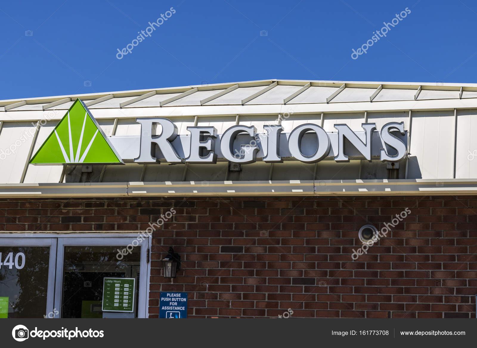 Indianapolis - Circa July 2017: Regions Financial