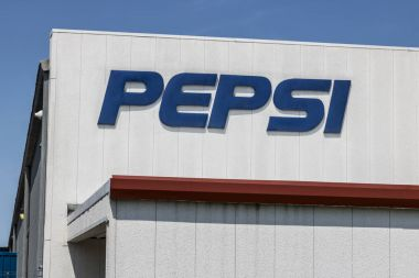 Logansport - Circa August 2017: Pepsi Bottling Signage. Pepsi is one of the largest beverage producers in the world III