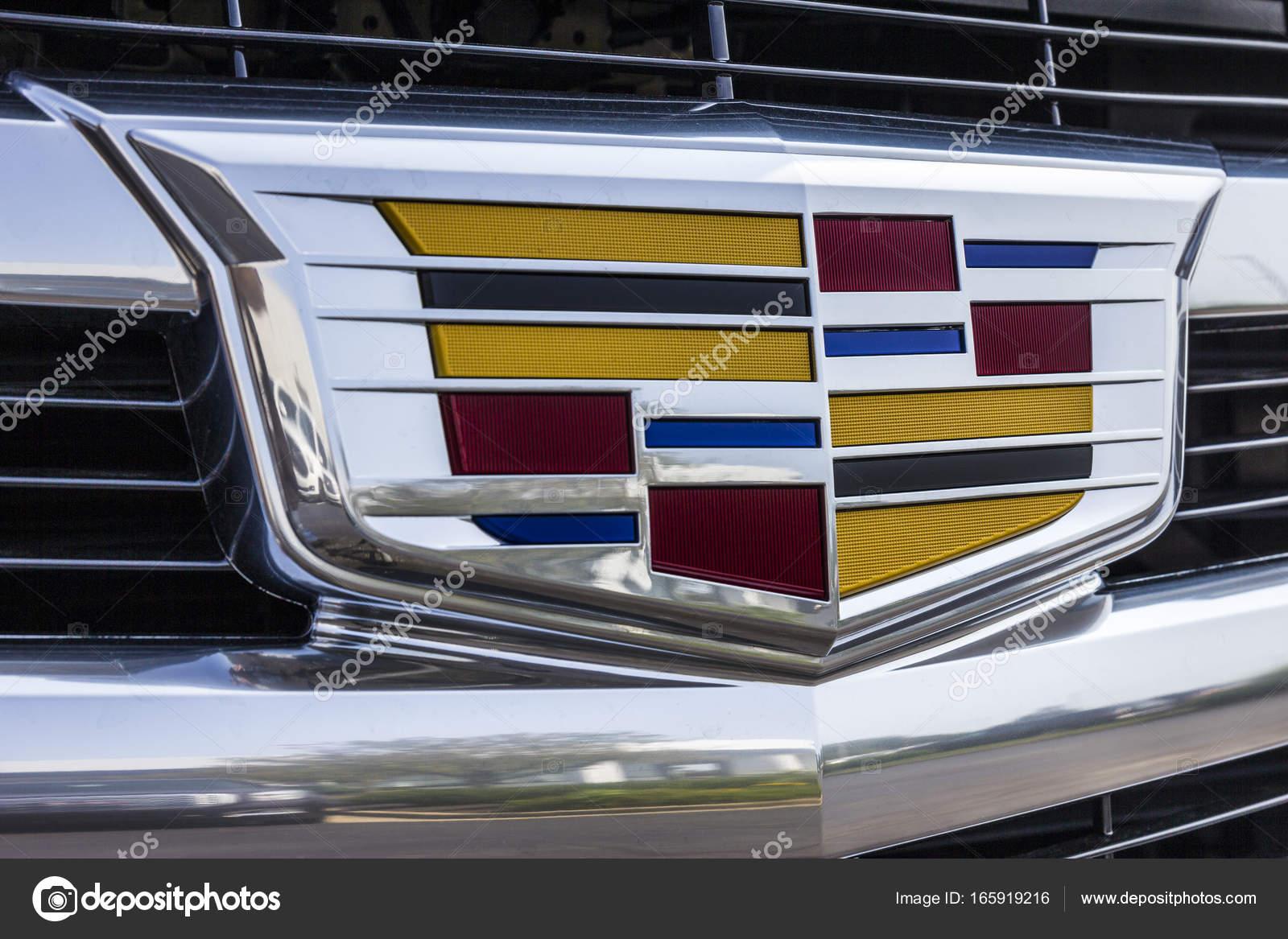 Kokomo Circa September 2017 Cadillac Automobile Dealership