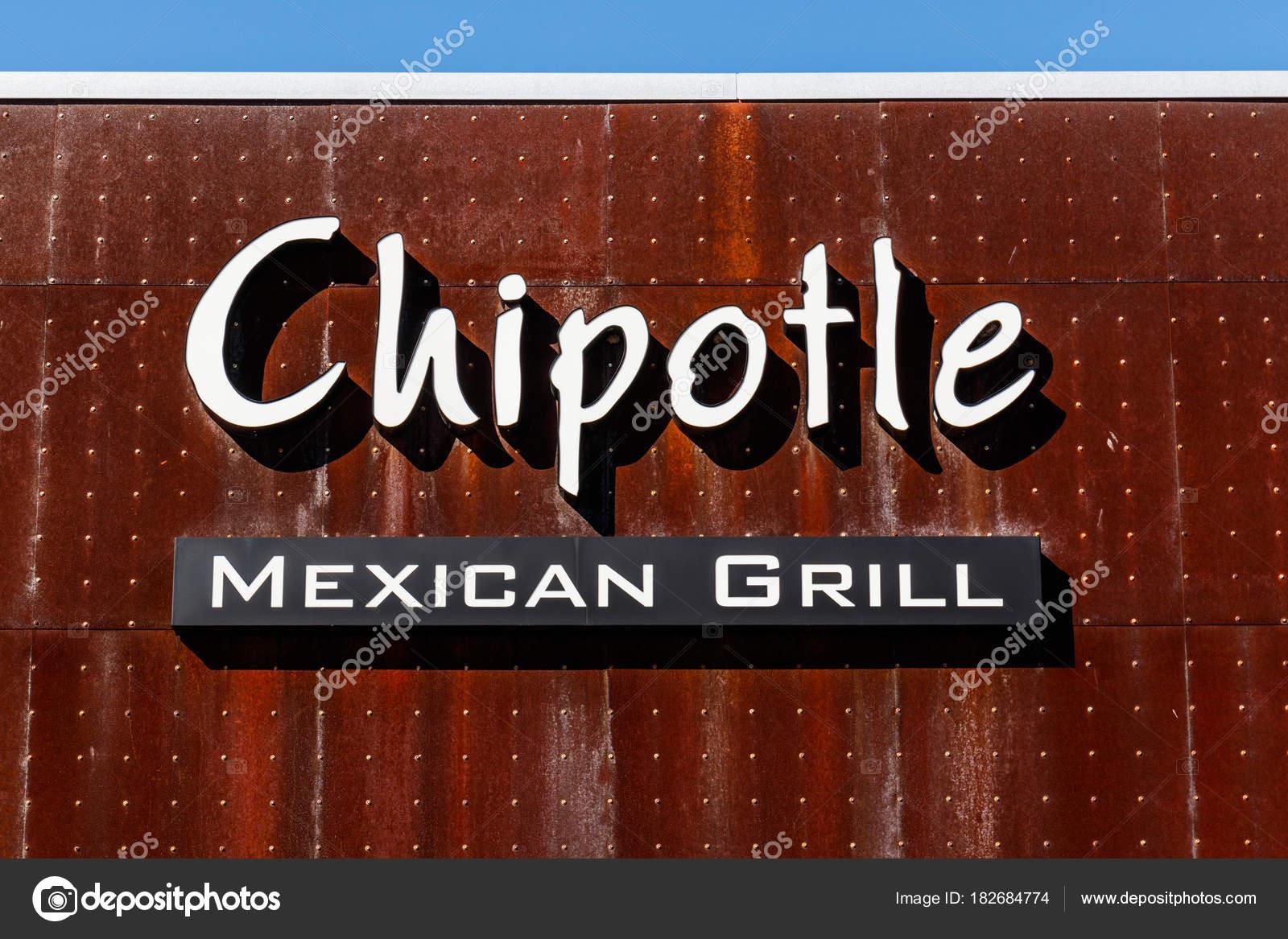 Lafayette Circa February 2018 Chipotle Mexican Grill Restaurant