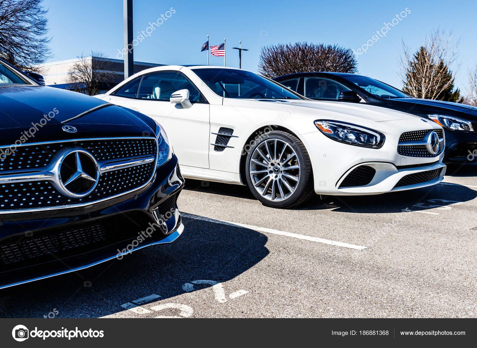 Indianapolis   Por Volta De Março De 2018: Mercedes Benz Concessionária.  Mercedes Benz é Uma Fabricante De Automóveis Global E Uma Divisão De  Daimler Ag Ii ...