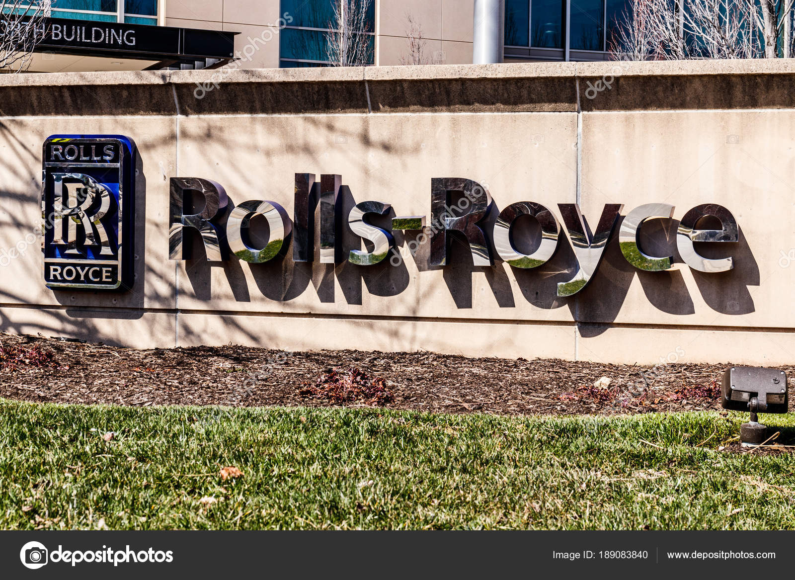 indianapolis - circa march 2018: rolls-royce aerospace jet turbine
