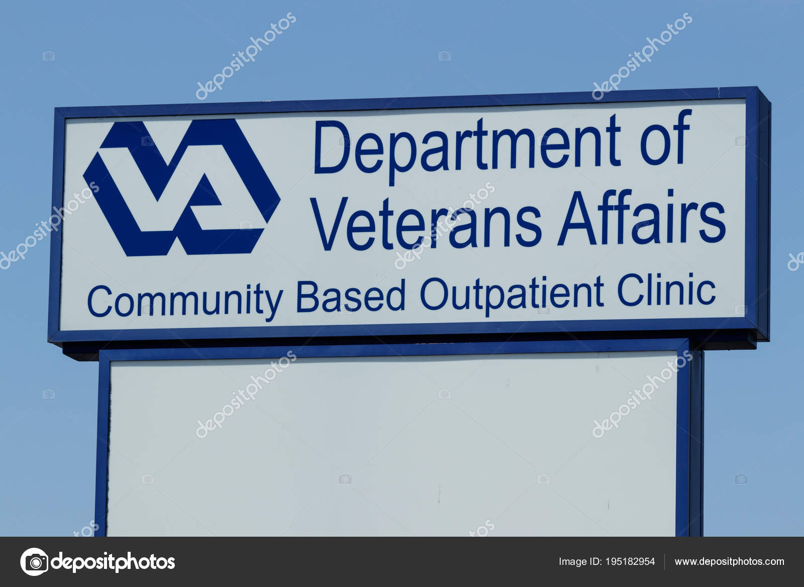 Peru - Circa May 2018: Veterans Affairs Outpatient Clinic