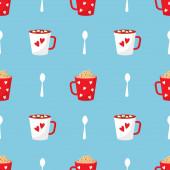 Hot Drinks. Cocoa, Coffee, Tea, Hot Chocolate.