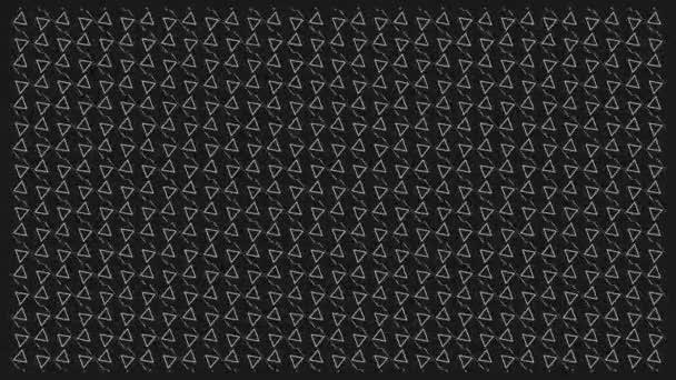 Textura. Vzorek. Černá. Trojúhelník