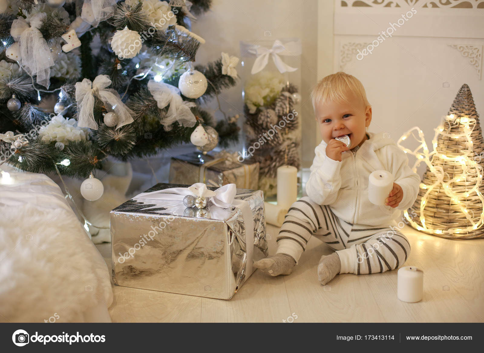 1ee7d677a cute 1 year old baby boy in cozy clothes