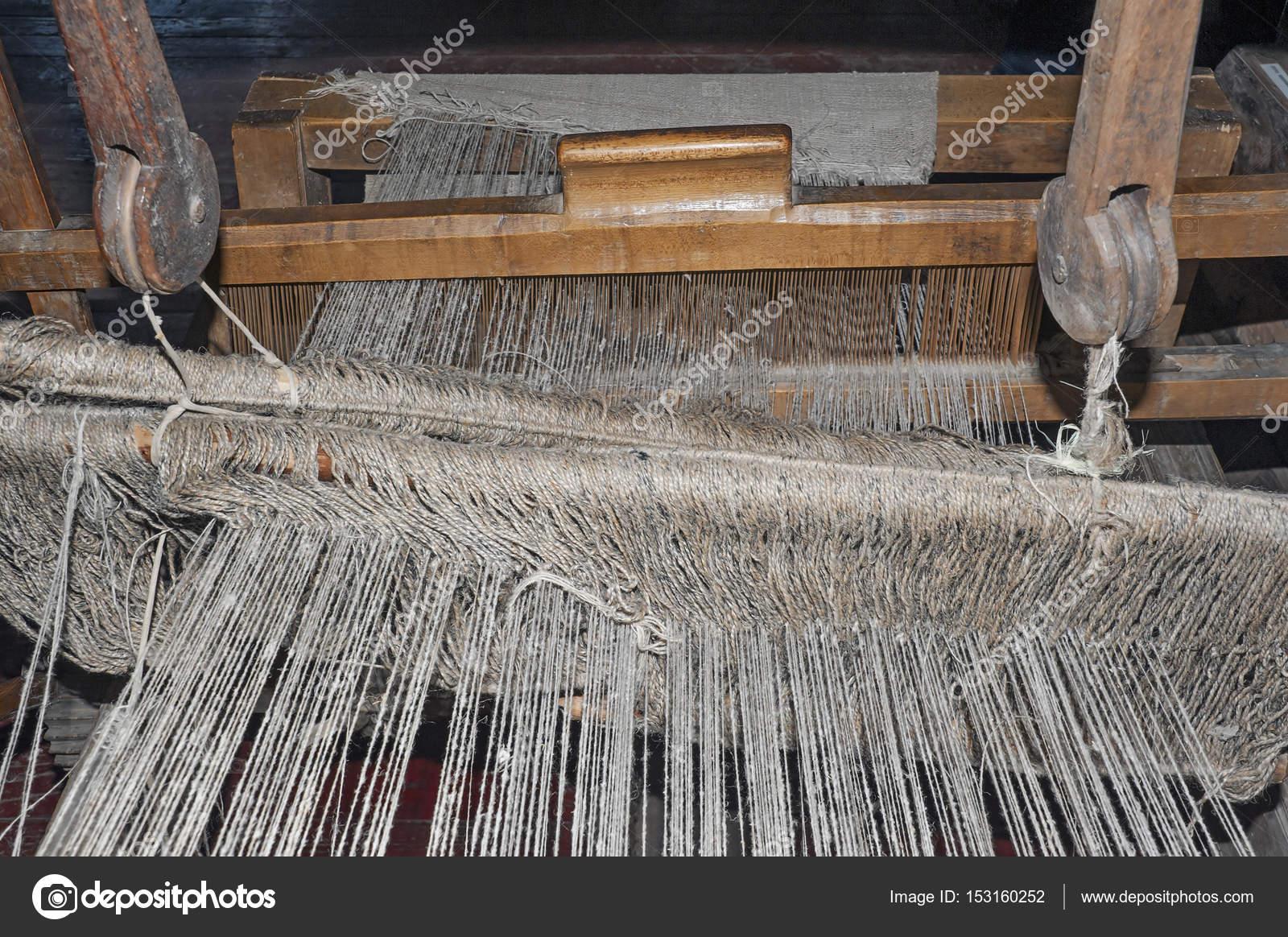 Tejer telar de patrones — Fotos de Stock © simurg #153160252