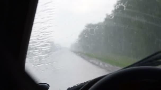 jízdy v dešti