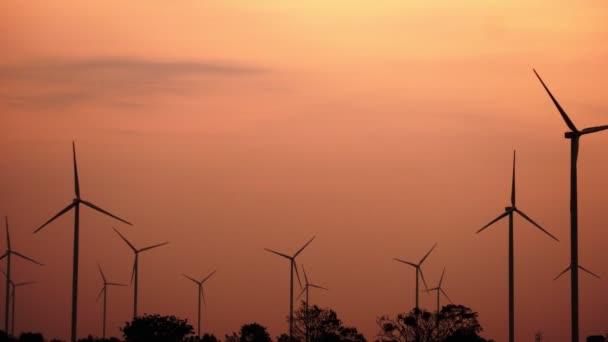 Větrné turbíny farma, technologie