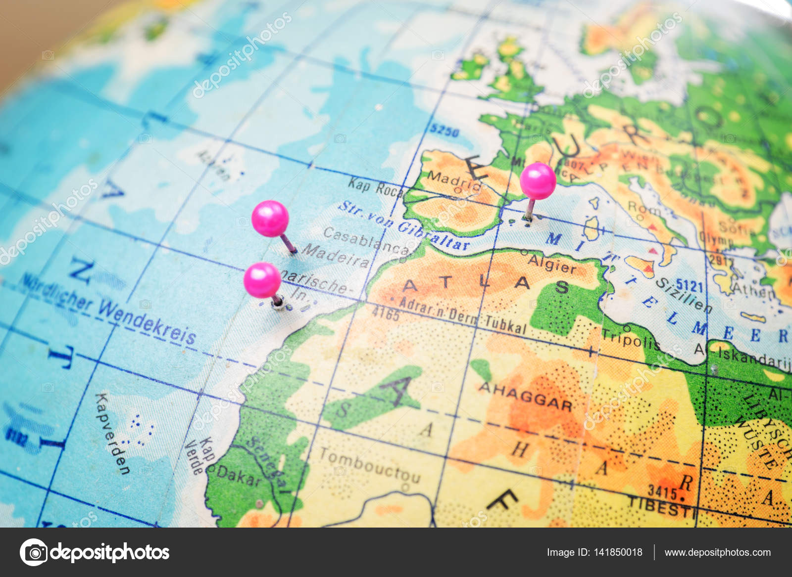 Travel location Islands of Madeira, Tenerife and Mallorca ...