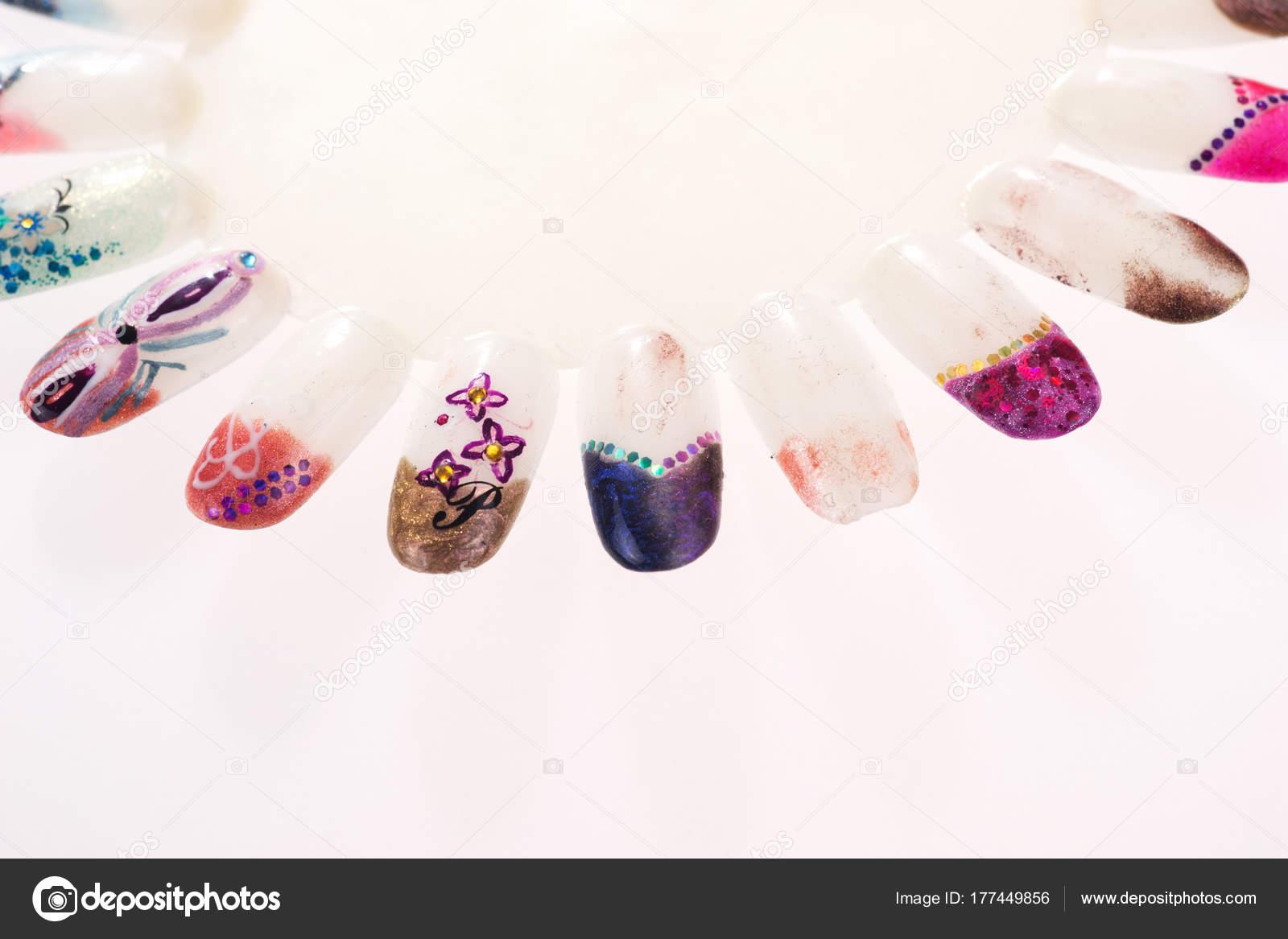 Collection Artificial Finger Nail Beautiful Nail Design Finger Nail ...