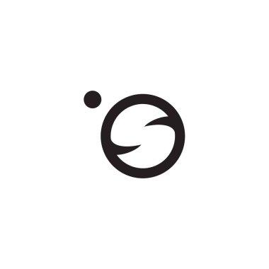 Planet icon logo design vector template