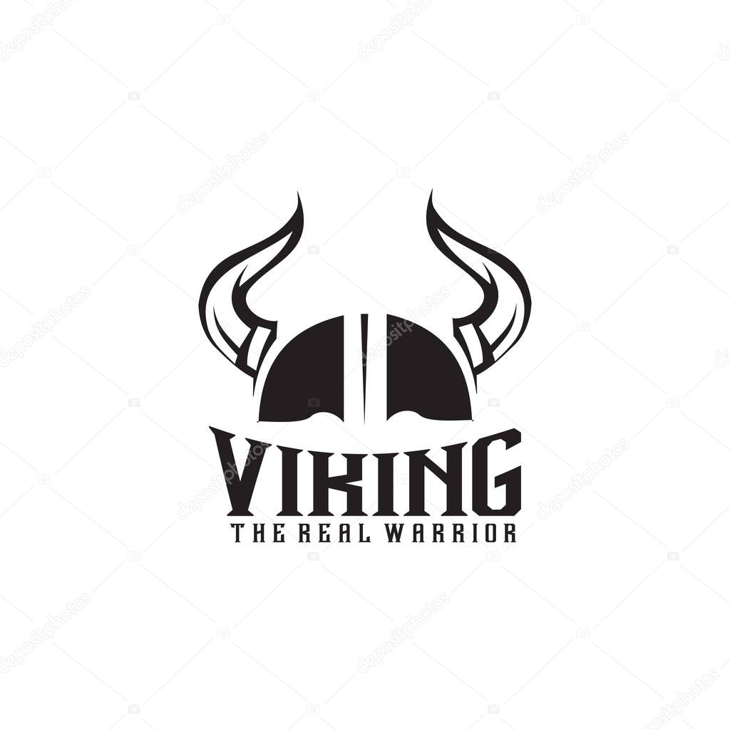 Viking Helmet Icon Logo Design Vector Illustration Template Premium Vector In Adobe Illustrator Ai Ai Format Encapsulated Postscript Eps Eps Format
