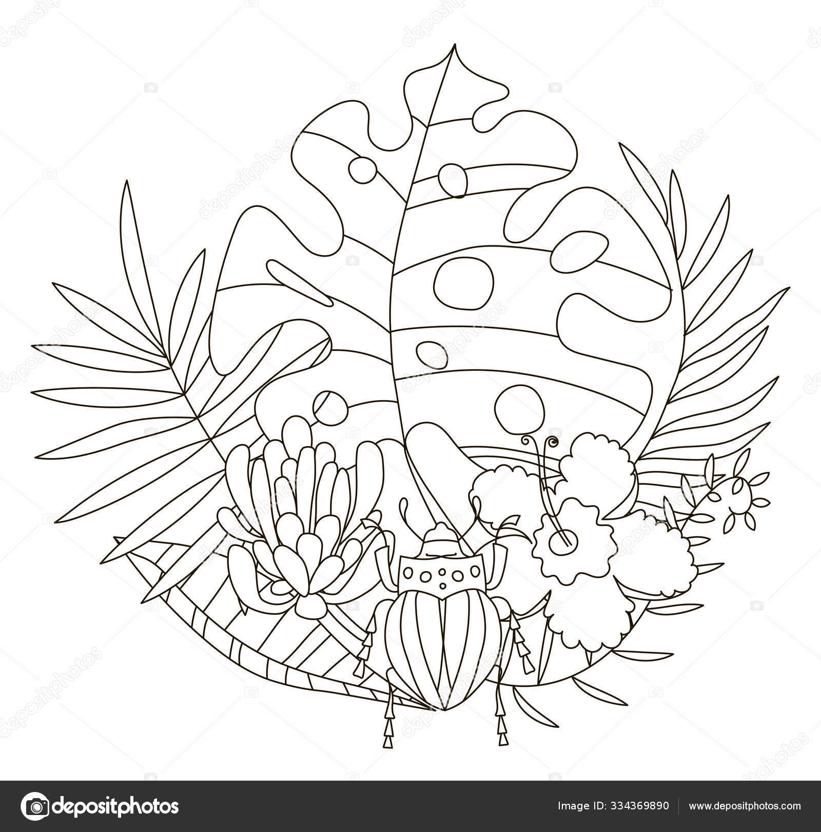 flower drawings to print and color | Download this coloring sheet ... | 1620x1600