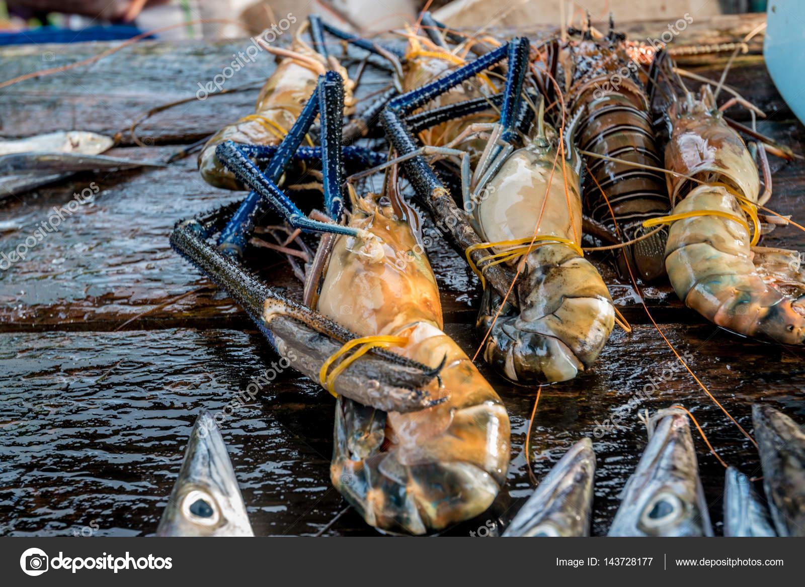 Raw Freshwater Jumbo Shrimp Stock Photo C Yakov Oskanov 143728177