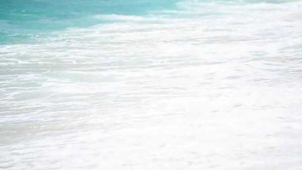 Waves on ocean beach