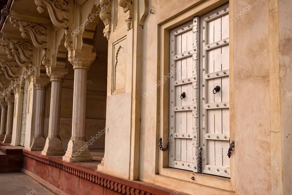 Golden Pavilion in Fort of Agra